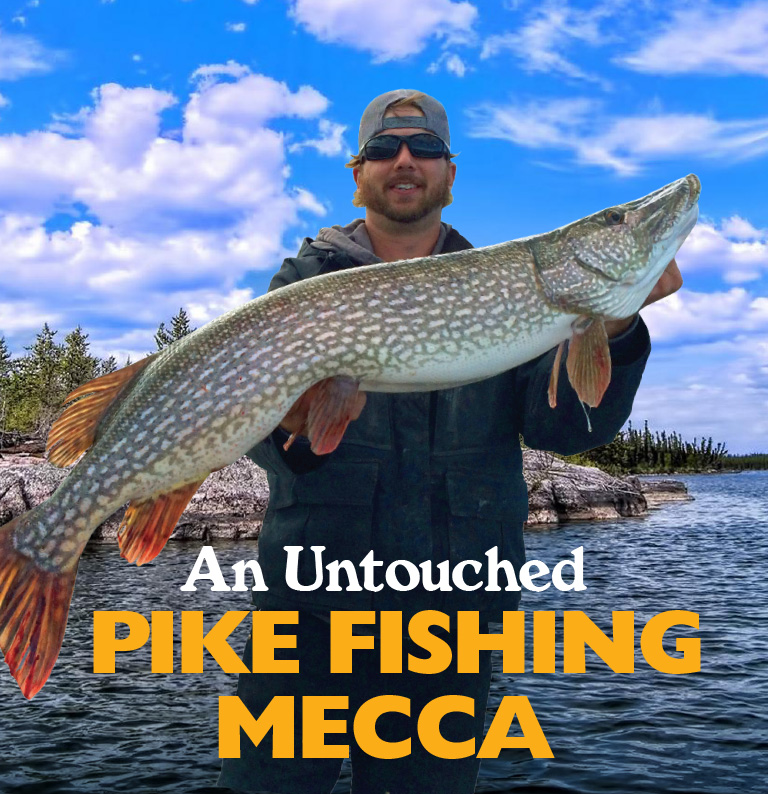 An Untouched Pike Fishing Mecca