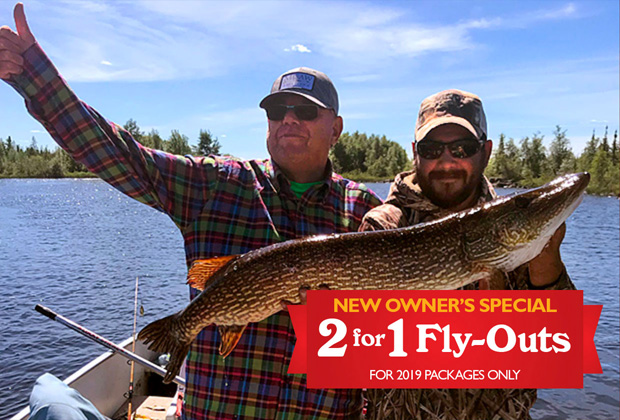 2-for-1 Fly-Outs Special